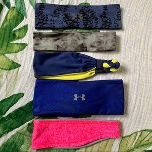 Under Armour and Scunci Headbands